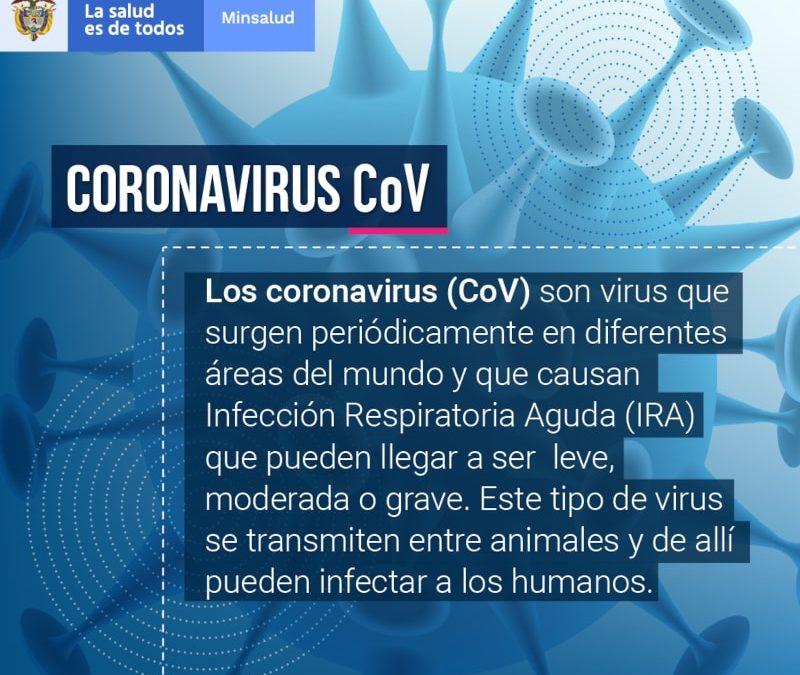 Información general Coronavirus