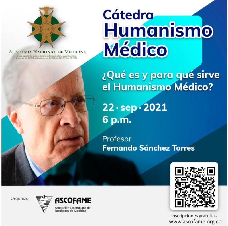 Cátedra Humanismo Médico- ASCOFAME-Sep 22 2021 6pm